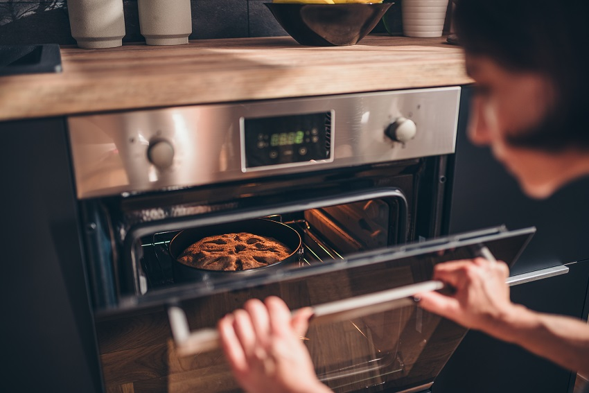 Convection ovens need to be checked more frequently than conventional ovens Source: Mom Blog Society