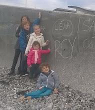 Photo: Lou, Tom, Léna, Louison et Alban à Veulettes sur Mer