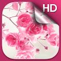 Pink Flowers Live Wallpaper HD APK