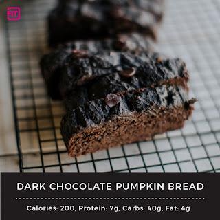 Dark Chocolate Pumpkin Bread.