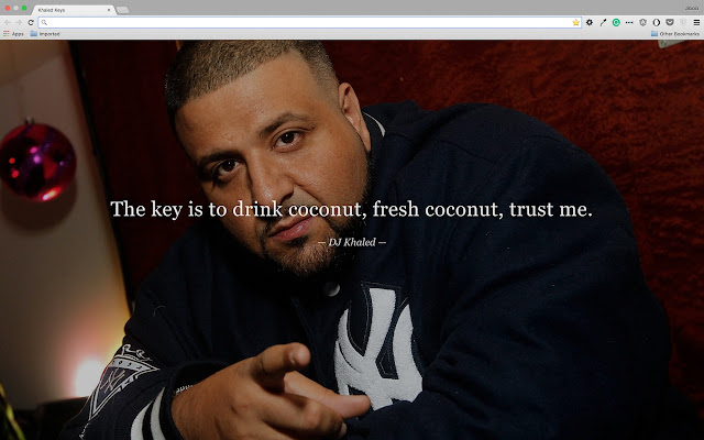 Dj Khaled Quotes Entrancing Khaled Keys  Chrome Web Store