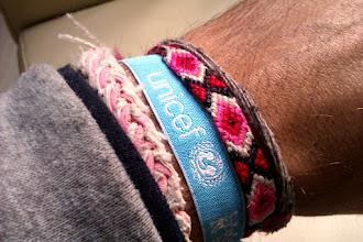 Photo: Desde hoy mi muy mejor pulsera preferida #UNICEF
