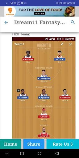Dream11 Pro Cricket,Kabaddi,Hockey Predictions 2.0 screenshots 6