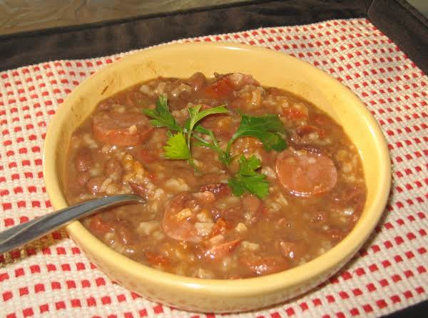 Mexican Style Red Beans & Rice Recipe
