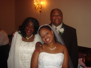 Photo: Tanesha with Mommy & Ron