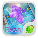 Bright Glass GO Keyboard Theme 3.87