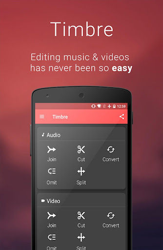 Timbre: Cut, Join, Convert mp3 v2.0.6