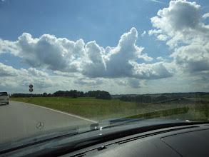 Photo: Auf der B»ayern« 300 über Land