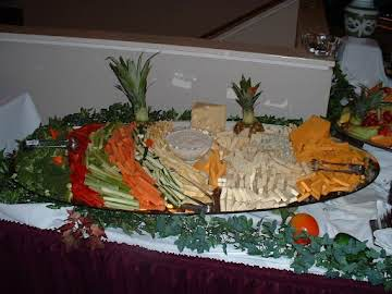 Caesar Vegetable Dip