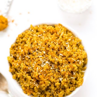 5-Ingredient Coconut Curry Quinoa.