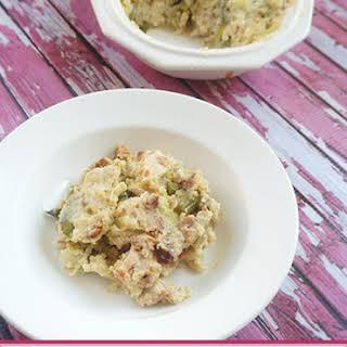 Chicken Asparagus Quinoa Bake.