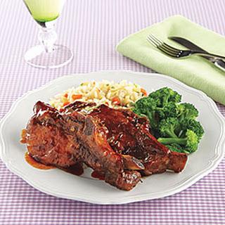 Sticky Pork Ribs Recipe