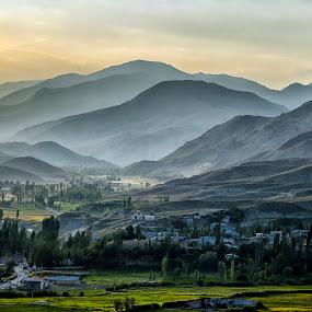 Solebon Village  by Amir Kh - Landscapes Mountains & Hills ( tehran, iran, sky, mountain, village, sunset, landscape photography, travel, nikon, landscape, travel photography,  )