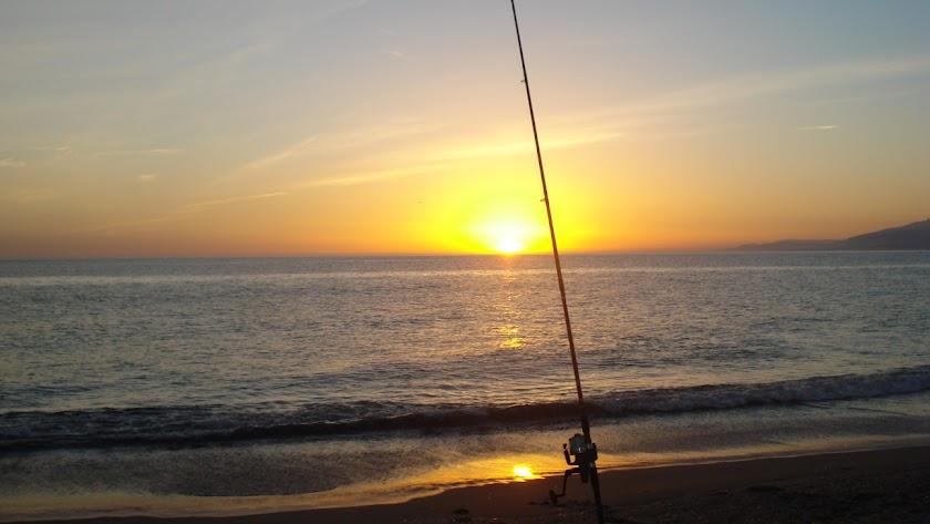 Playa de Las Amoladeras, escenario de la prueba.