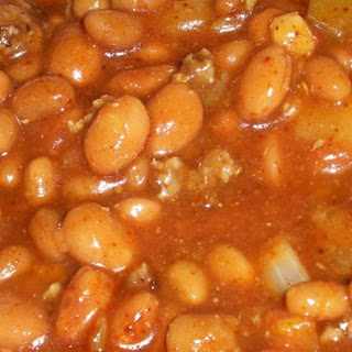 texas style baked beans allrecipes ground beef baked beans chile ...