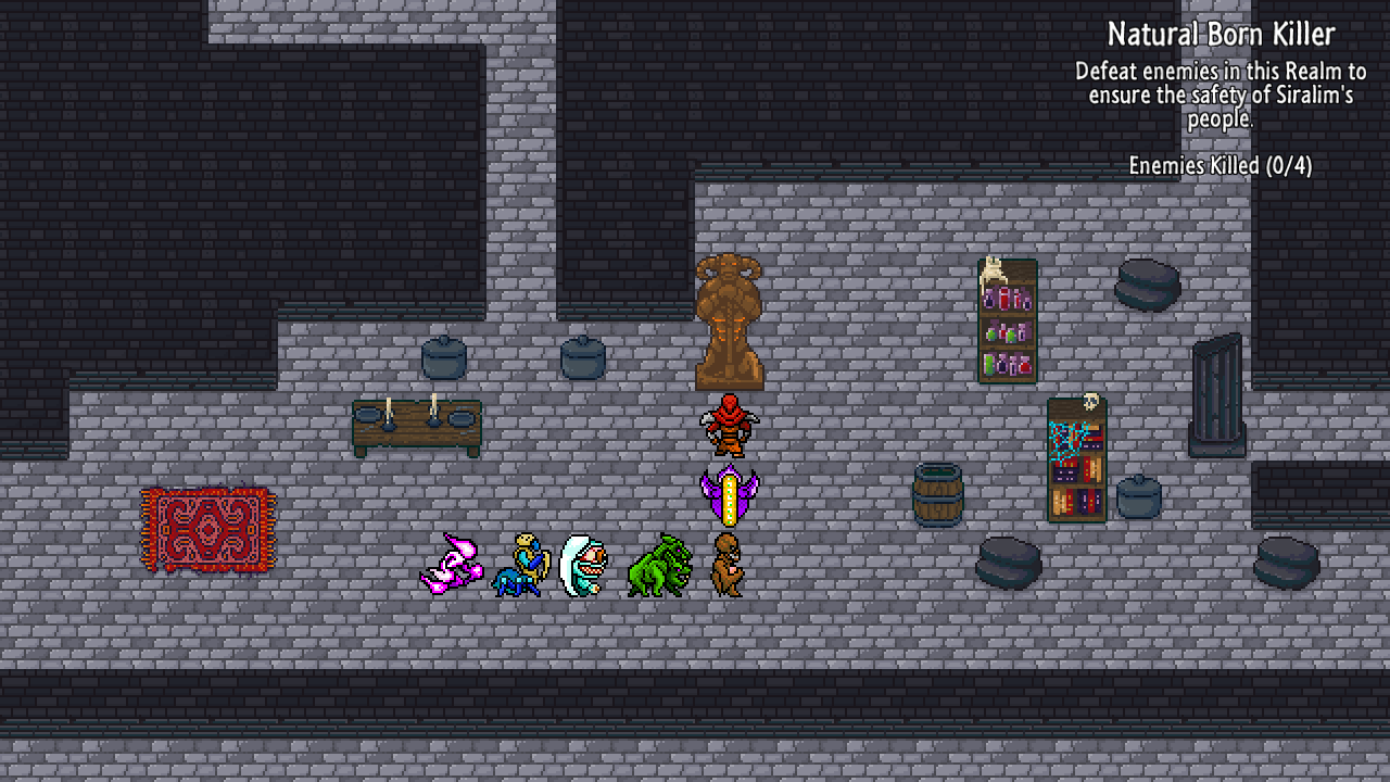 Siralim 2 (Roguelike RPG Game)- screenshot