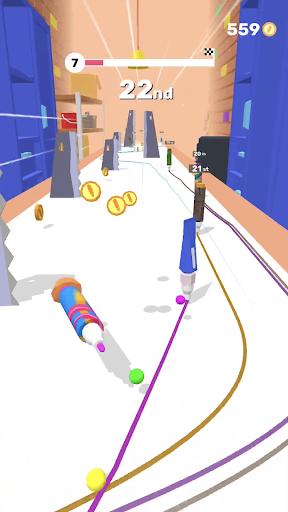 Pen Run - screenshot