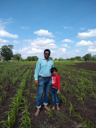 मी माझ्या शेतात