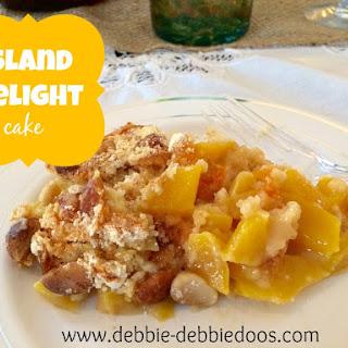 Mango Island delight dump cake