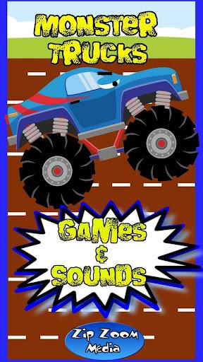 Monster Truck Sounds Games