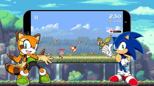 Sonic Classic Dash Runner 2018 1.7 screenshots 4