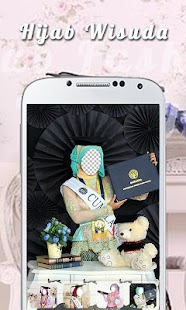 Hijab Graduation Camera - náhled