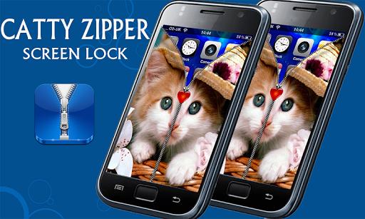 Pretty Kitty Screen Lock