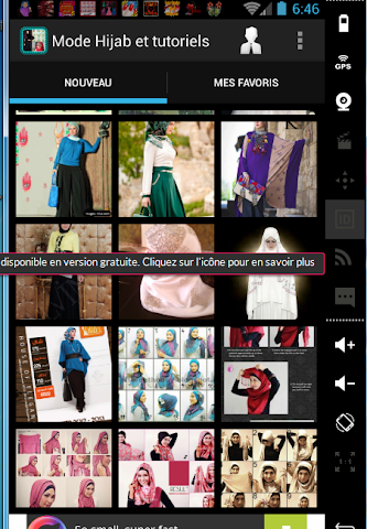 android Mode Hijab 2016 et tutoriels Screenshot 11