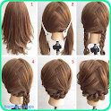 Easy Hairstyle Tutorials icon