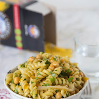 Middle Eastern Pasta Salad.