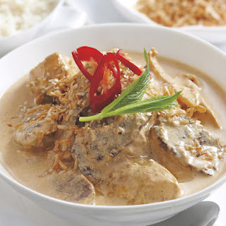 Red Curry Lamb with Coconut