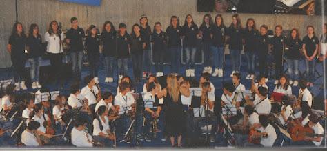 """Photo: coro polifonico """"Dante Alighieri - Le Ciminiere 2013"""