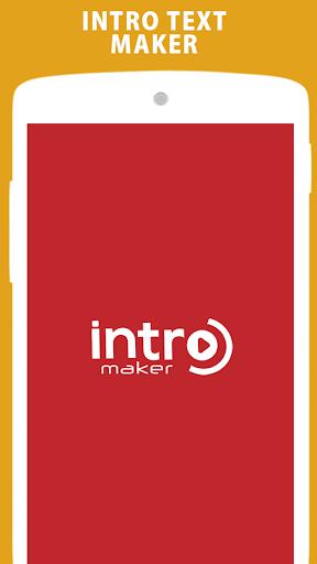 intro maker unlocked apk