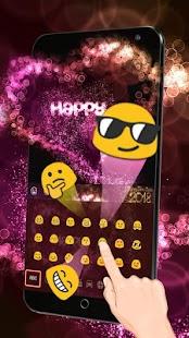 Klávesnice Happy New Year 2018 - náhled