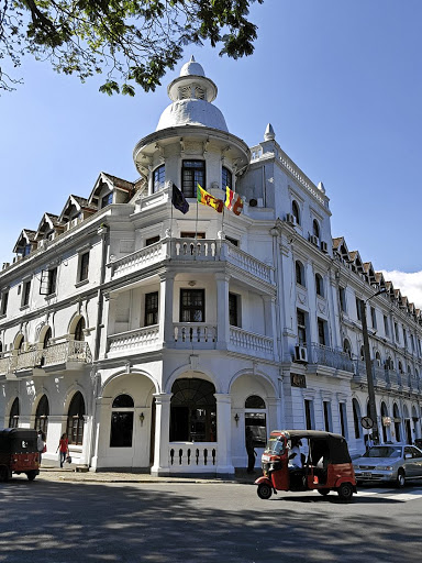 Many old buildings in Colombo echo Sri Lanka's colonial past.