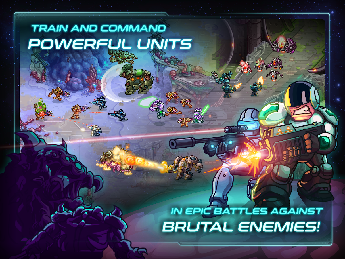 Iron Marines- screenshot