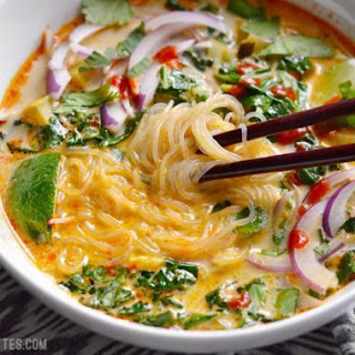 Thai Curry Vegetable Soup.