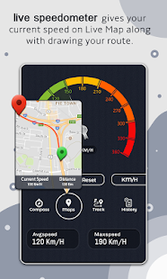 GPS Speedometer: Compass, Maps & Tracks - náhled