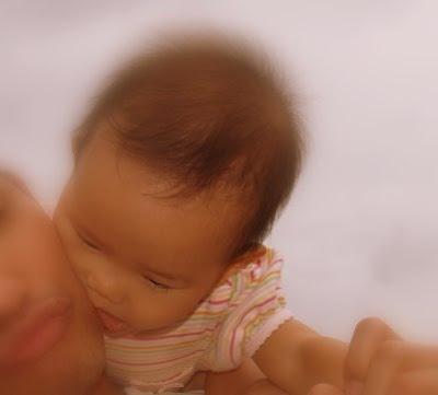Zaria Kissing Daddy