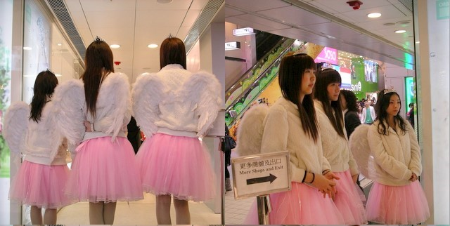 Angels in Causeway Bay