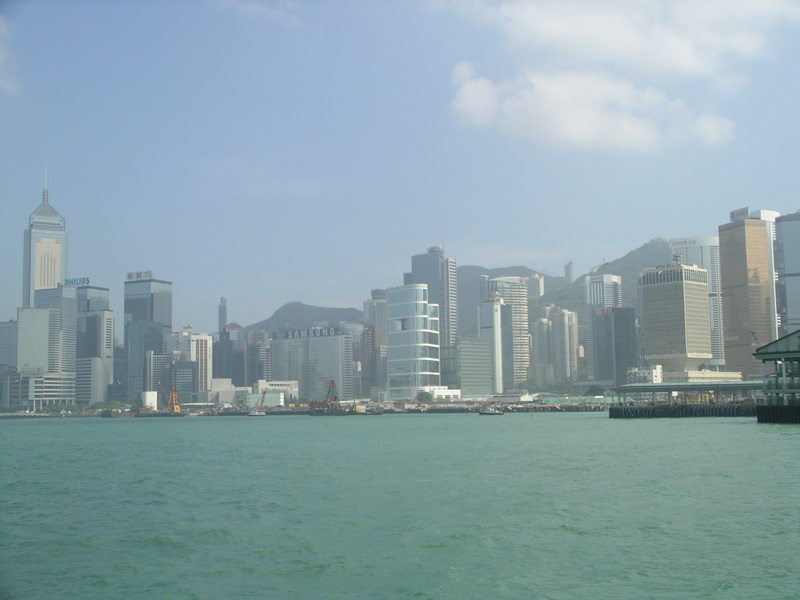 View of Hong Kong from Ferry