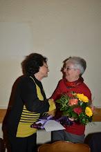 Photo: Auch Margrit gratuliert