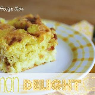 Lemon Delight Cake.
