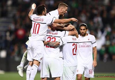 ? AS Roma krijgt klop van stadsgenoot Lazio, Milan zet ongeslagen reeks verder met krappe zege tegen Sassuolo