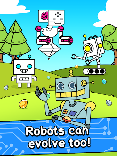 Robot Evolution - Clicker Game 1.0 screenshots 9
