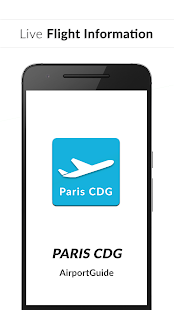 Paris CDG Airport Guide - Flight information - náhled
