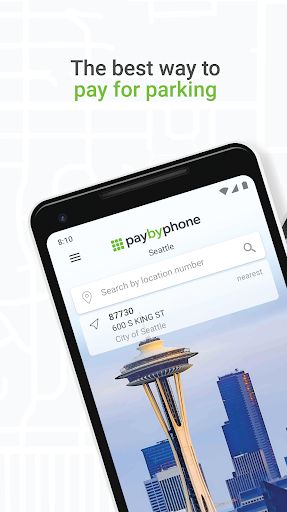 PayByPhone 3.7.0.7304 screenshots 1