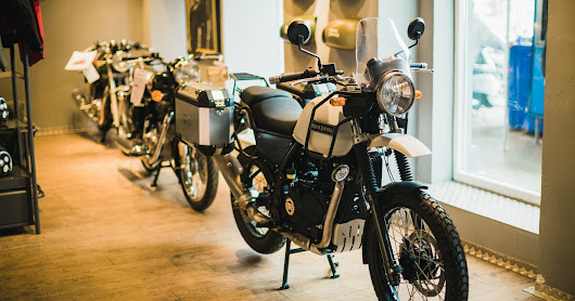 Opening Royal Enfield Flagship Store Vienna