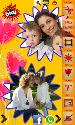 Collage with Stickers