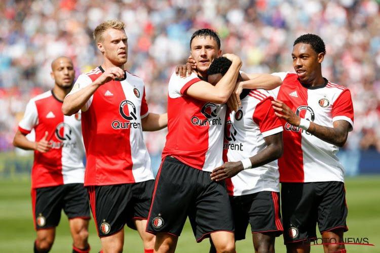 Feyenoord wint eerste wedstrijd onder Advocaat, Utrecht haalt uit